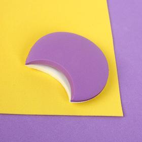 Спонж для нанесения косметики, 5,5 × 4 см, цвет МИКС