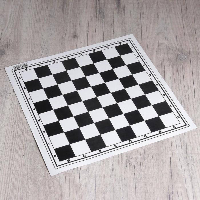 Шахматное поле Классика, картон, 32 32 см