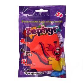 Кинетический пластилин «Zephyr» розовый 0,075 кг