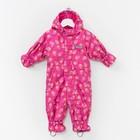 Весенний комбинезон для малышей, рост 74 см, цвет розовый S28101