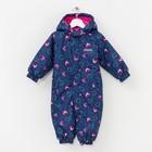 Весенний комбинезон для малышей, рост 68 см, цвет синий S28102