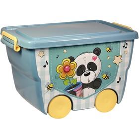 Ящик для игрушек «Деко: панда», 23 л