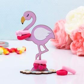 Органайзер для резинок и бижутерии 'Фламинго' Ош