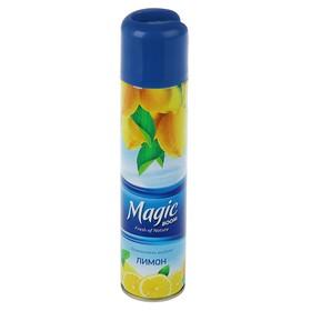 Освежитель воздуха Magic Boom лимон, 300 мл