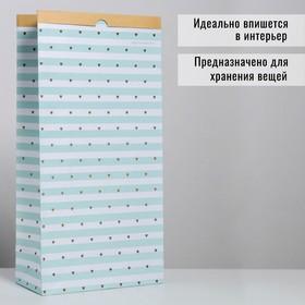 Пакет крафтовый «Вдохновение», 32 х 64 х 16 см Ош