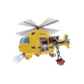 Игрушка «Спасательный вертолёт», со световым и звуковым эффектом, 18 см
