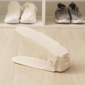 Подставка для хранения обуви, 25×12×9 см, цвет МИКС Ош