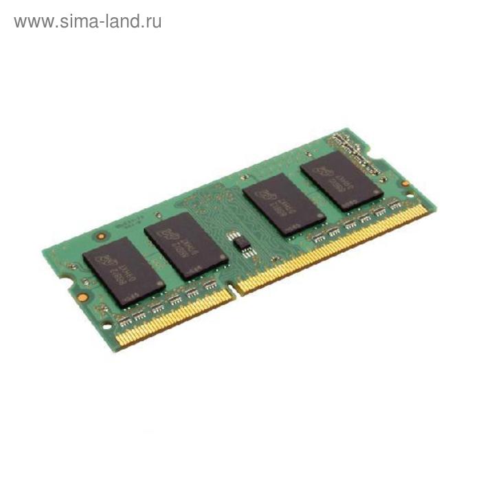 Память DDR3 4Gb 1333MHz Kingston KVR13S9S8/4 RTL PC3-10300 CL9 SO-DIMM 204-pin 1.5В