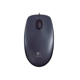 Мышь Logitech Mouse M90, проводная, оптическая, 1000 dpi, USB, темно-серая