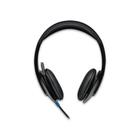 Наушники с микрофоном Logitech USB Headset H540, накладные, провод 1.9 м, черные