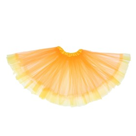 Карнавальная юбка «Кокетка», 2-х слойная 4-6 лет, цвет оранжевый Ош