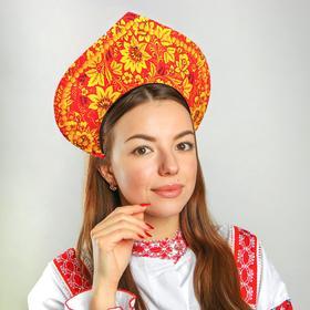 Кокошник 'Хохлома', на ободке Ош