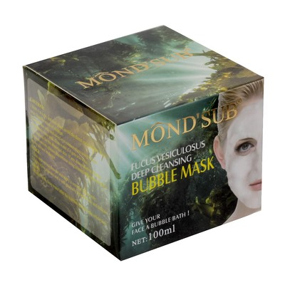 Очищающая пузырьковая маска для лица Bubble Mask Mondsub, 100 мл - Фото 1