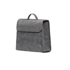 Органайзер в багажник iSky, войлочный, 30x30x15 см, серый