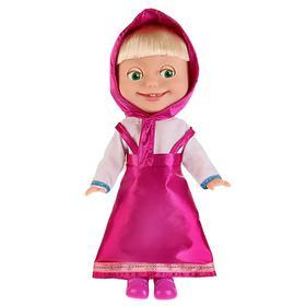 Мягкая музыкальная кукла «Маша и медведь. Маша», 30 см, поёт 12 песен