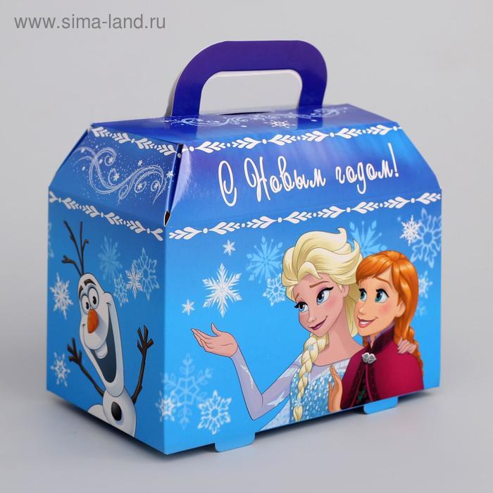Подарочная коробка «С Новым Годом!», Холодное сердце, 15 х 13 х 10 см