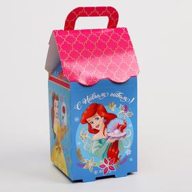 Подарочная коробка «С Новым Годом!», Принцессы, 8 х 14 х 8 см