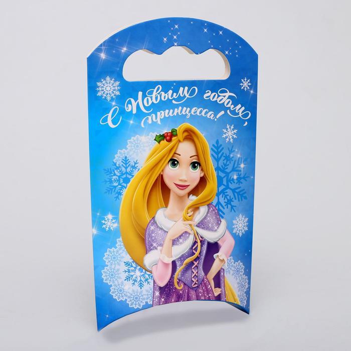 Подарочная коробка С Новым Годом, Принцессы, 12 х 18,5 х 3,8 см
