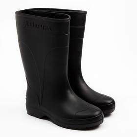 Сапоги женские «ЭВА», цвет чёрный, размер 39/40 Ош