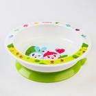 Тарелка детская на присоске «Малышарики», 400 мл, от 6 мес., цвета МИКС