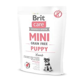 Сухой корм Brit Care MINI GF Puppy Lamb для щенков мини-пород, беззерновой, 400 г. Ош