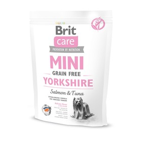 Сухой корм Brit Care MINI GF Yorkshire для йорков, беззерновой, 400 г. Ош