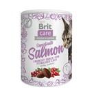Лакомство Brit Care Superfruits Salmon steril для стерилизованных кошек, лосось, 100 г