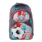 Рюкзак школьный Luris «Антошка», 37 x 26 x 13 см, эргономичная спинка, «Футбол»