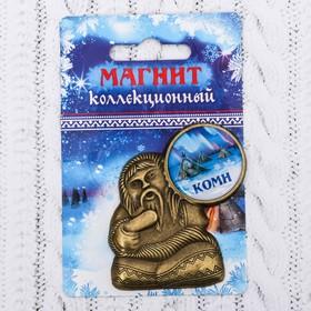 Магнит в форме шамана «Коми. Северное сияние» Ош