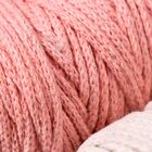 Шнур для вязания 3мм 100% хлопок, 50м/85гр, набор 3шт (Комплект 3)