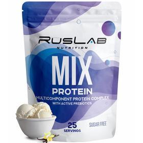 Протеин RusLabNutrition MIX Protein 70% Ванильное мороженое, 800 г