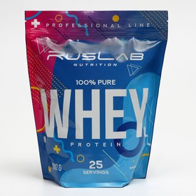 Протеин RusLabNutrition Whey Protein 75 %, ваниль, 800 г