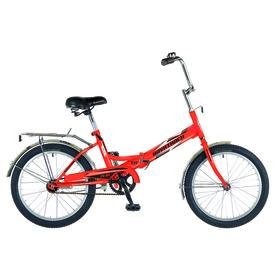 Велосипед 20' Novatrack FS30, 2018, 1ск., цвет оранжевый Ош