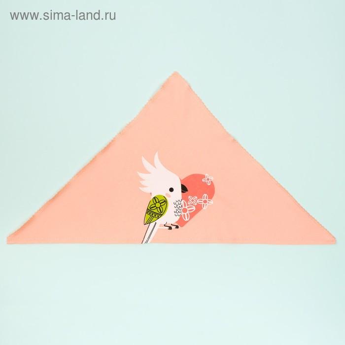 "Чепчик (косынка) Крошка Я ""Тропики"" р-р 44 (6-9 мес)"