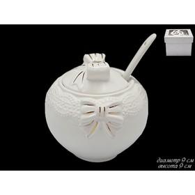 Баночка для мёда «Бантик», в подарочной упаковке Ош