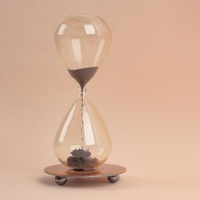 """Магнитные песочные часы """"Эйфелева башня"""", 8х13 см"""