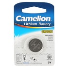 Батарейка литиевая Camelion CR2025-1BL (CR2025-BP1), 3В, блистер, 1 шт.