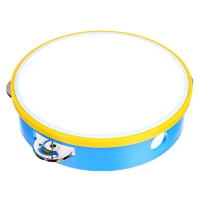 Музыкальная игрушка «Бубен», цвета МИКС - Фото 1