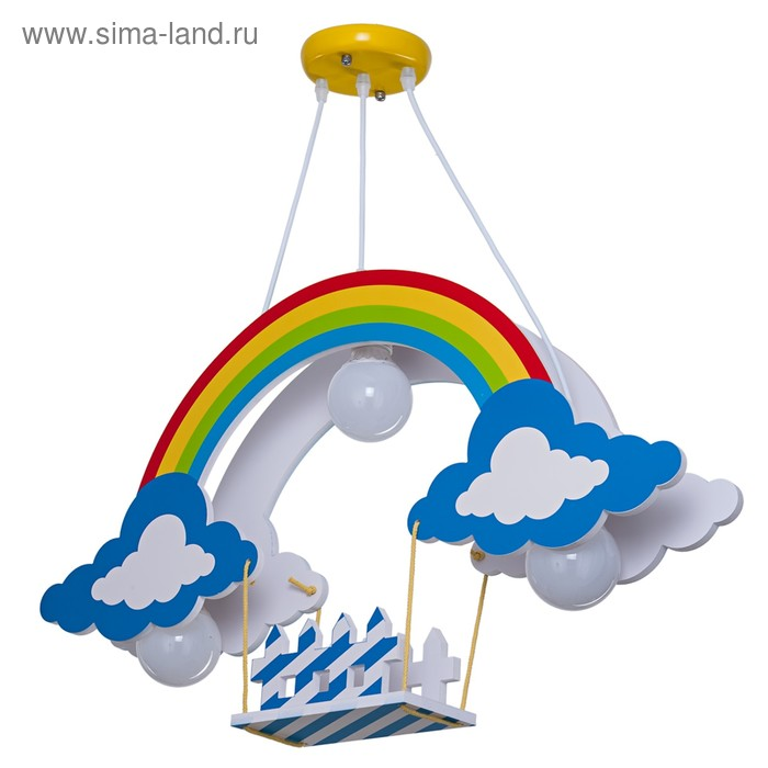 Светильник Stanley 3x18Вт E27 разноцветный 70x11x45см