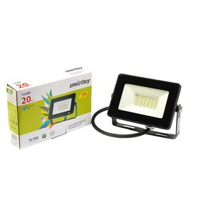 Прожектор светодиодный Smartbuy FL SMD, 20 Вт, 6500 K, 1600 Лм, IP65 Ош