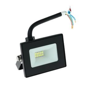 Прожектор светодиодный Smartbuy FL SMD LIGHT, 10 Вт, 6500 К, 550-800Лм, IP65, холодный белый Ош