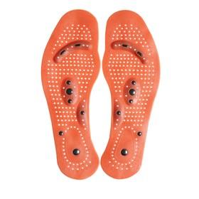 Стельки для обуви, универсальные, массажные, дышащие, 35-46 р-р, пара, цвет коричневый Ош