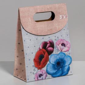 Пакет подарочный «Для тебя», 12 × 16 × 6 см, Ош