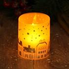 Электронная свеча «Домики»