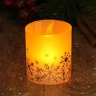 Электронная свеча «Снежинки»