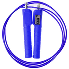 Скакалка скоростная со счетчиком 3 м, d=0,42 см, цвета МИКС