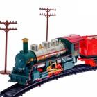 Железная дорога «Новогодний экспресс», работает от батареек - Фото 3