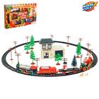 Железная дорога «Посылка от Деда Мороза», работает от батареек - Фото 2