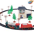 Железная дорога «Посылка от Деда Мороза», работает от батареек - Фото 3