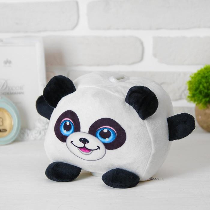 """Мягкая игрушка-копилка """"Панда"""" со звуком, с подсветкой"""